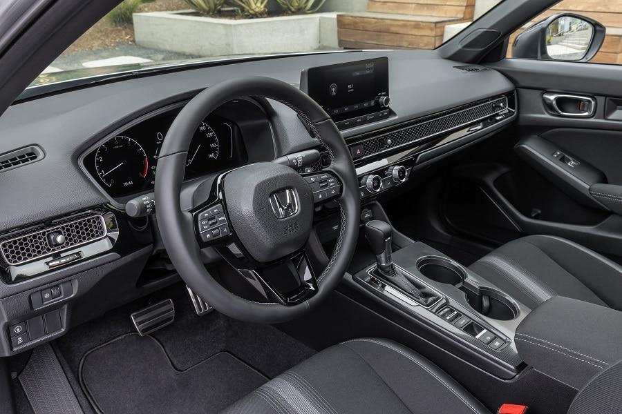 Honda Civic 2021 interni laterale