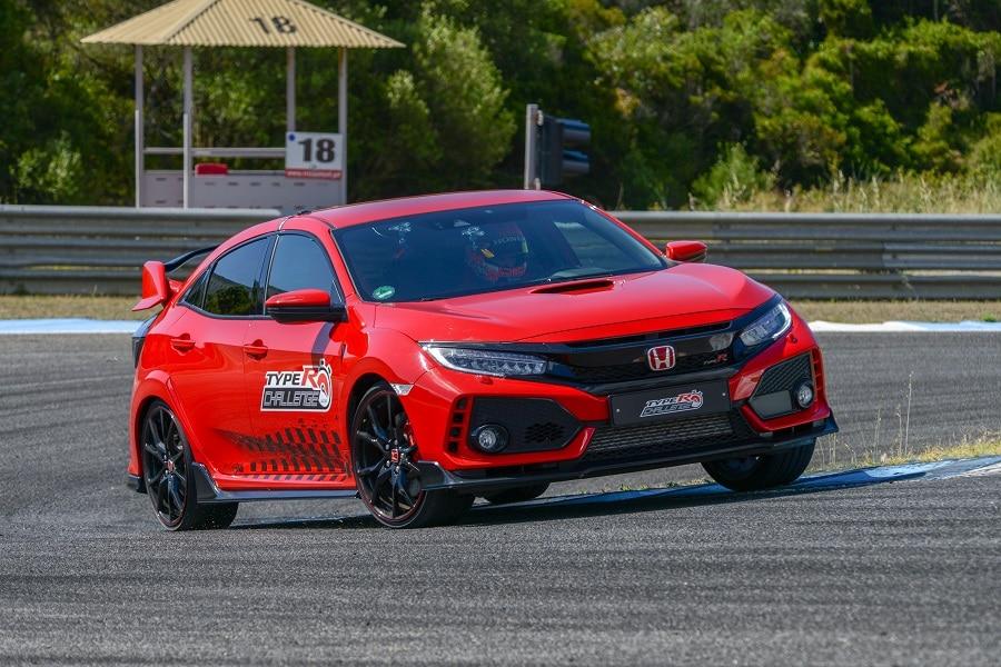 Honda Civic 2021 type r pista