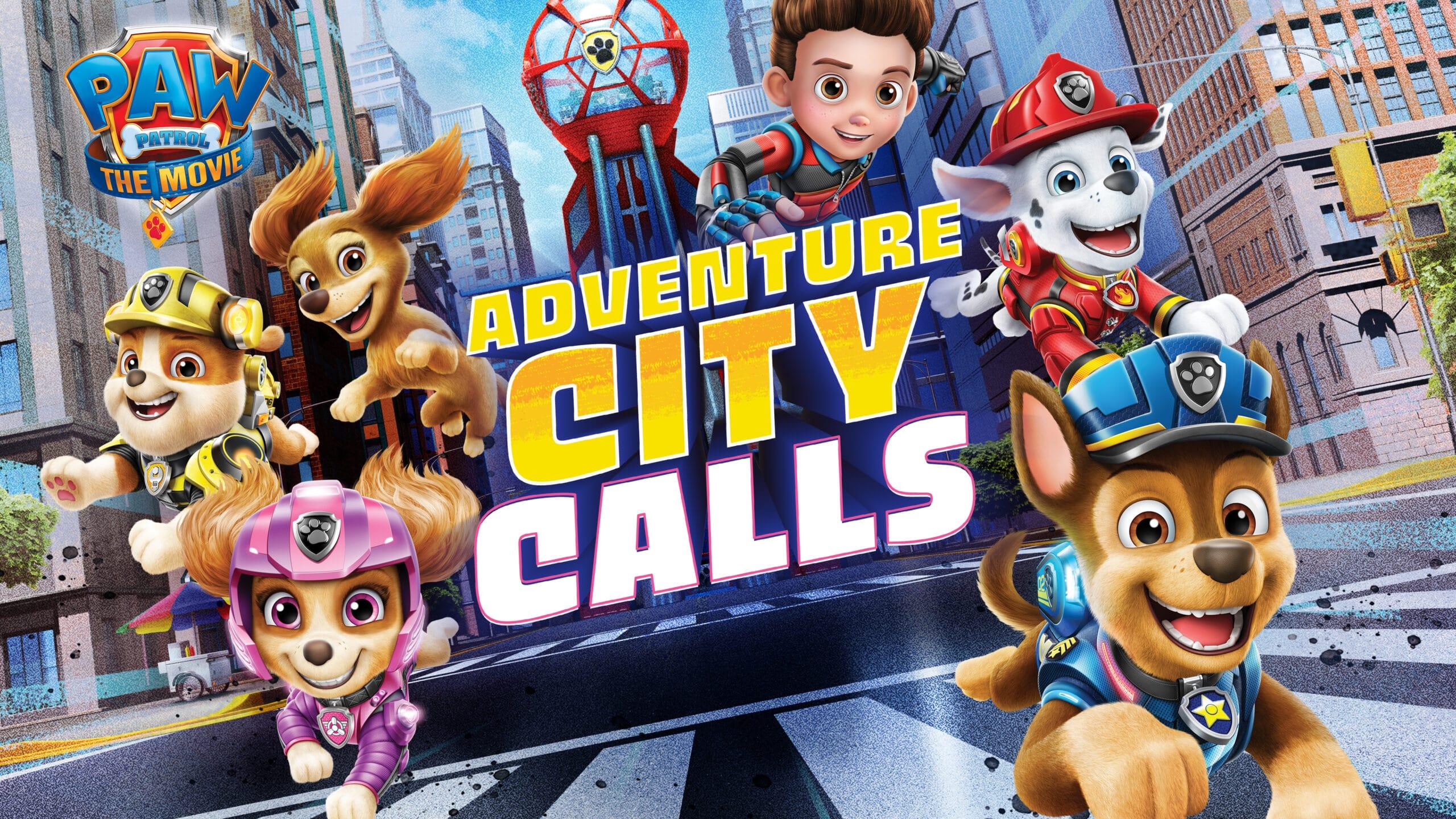 """""""PAW Patrol: Il Film Adventure City chiama"""" arriva su console e PC thumbnail"""