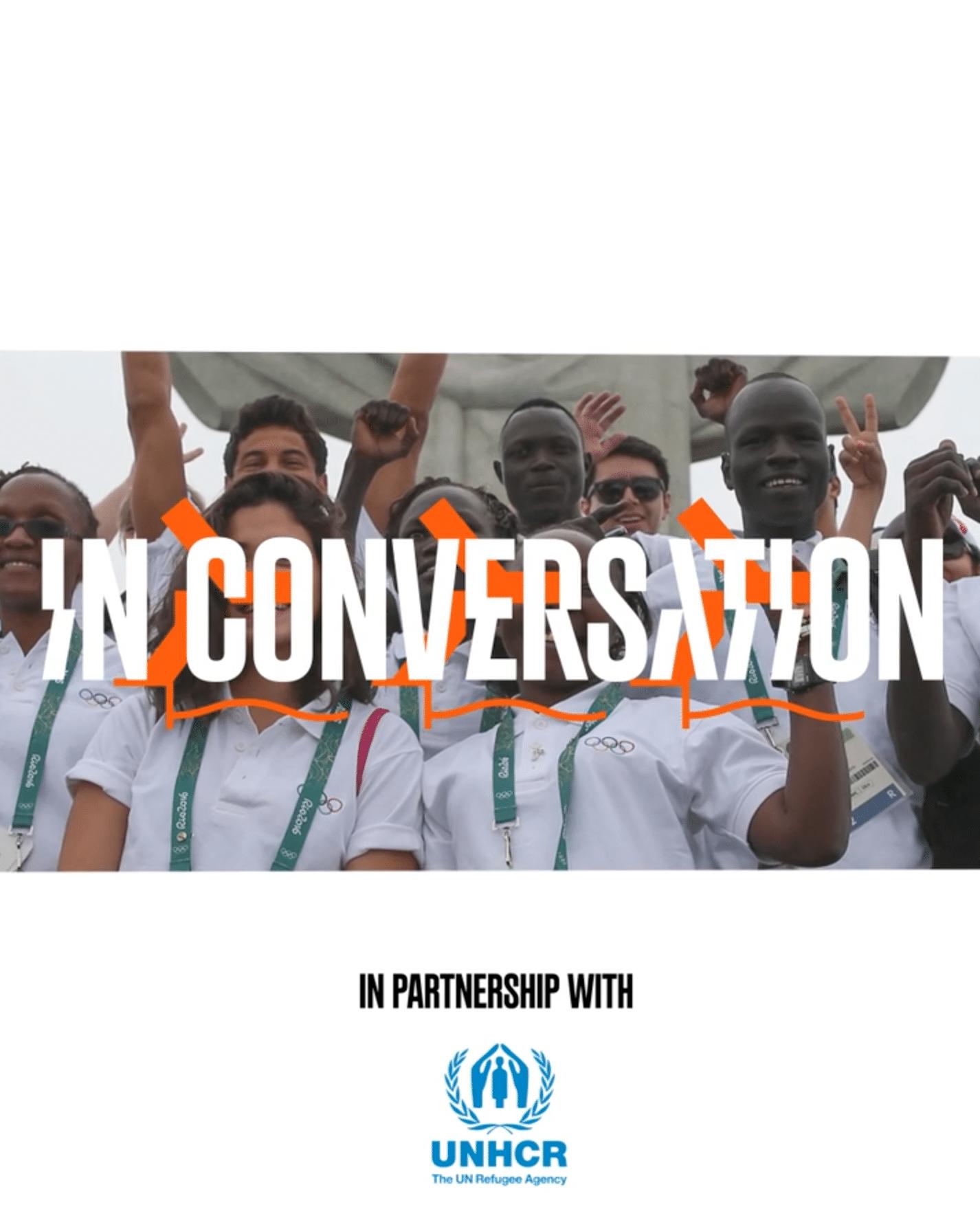 """Eurosport e Cio lanciano """"In Conversation"""", il progetto dedicato alla squadra olimpica dei rifugiati thumbnail"""