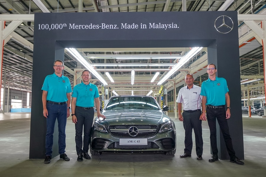 Joint-Venture Mercedes Malesia