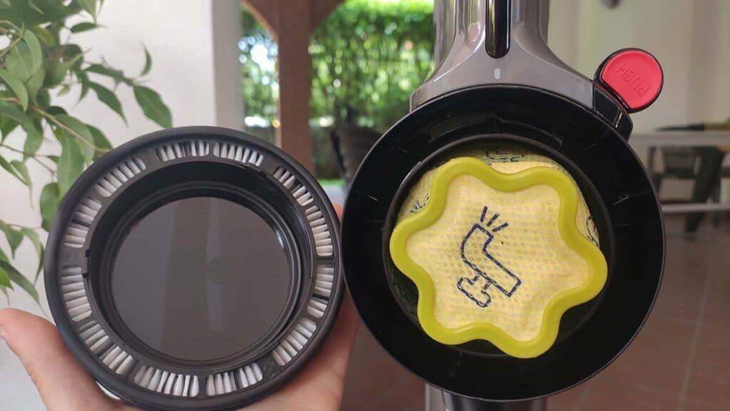 LG CordZero A9 Kompressor recensione filtro