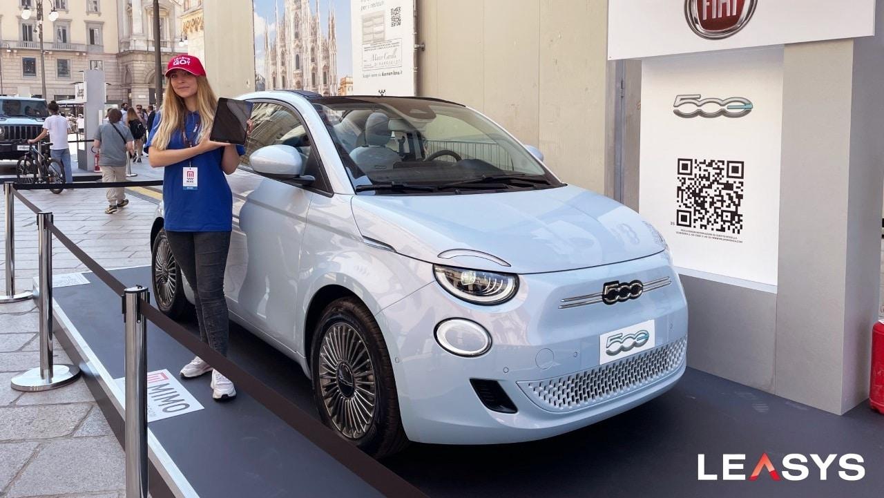 Le Fiat 500 di LeasysGo! protagoniste al MIMO 2021 thumbnail
