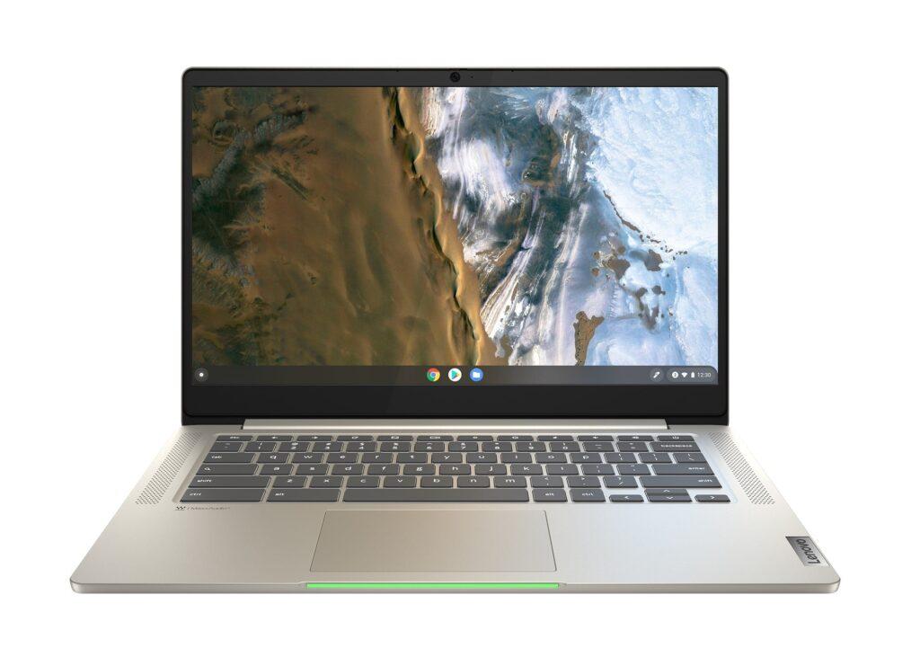 Lenovo IdeaPad 5i Chromebook_Light Power Indicator_Sand-min