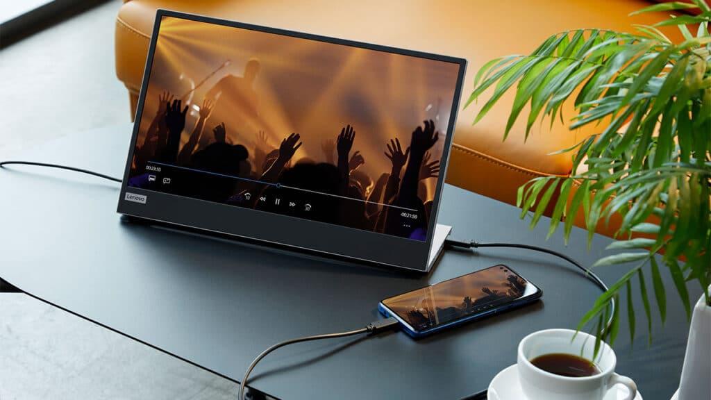 Lenovo L15 monitor portatile