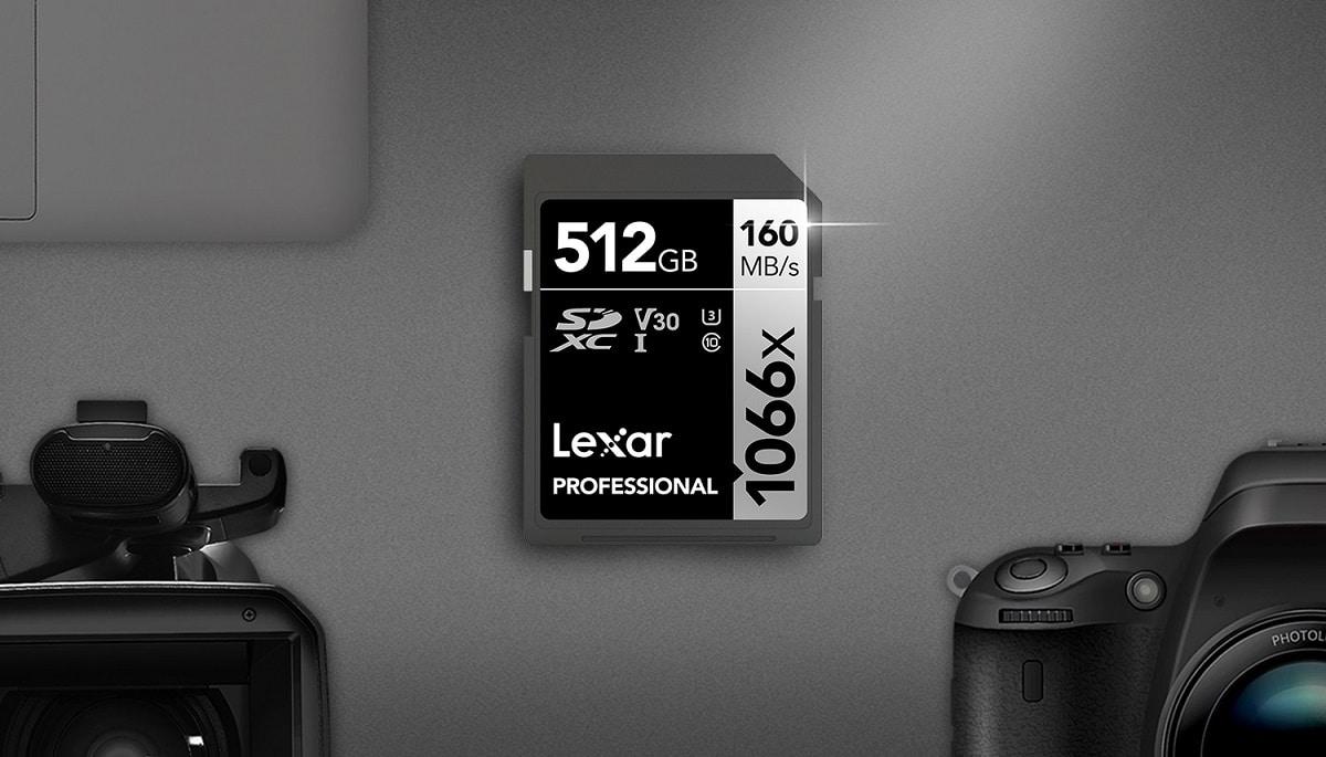 Lexar 1066x SDXC: una scheda per trasferimenti ad alta velocità thumbnail