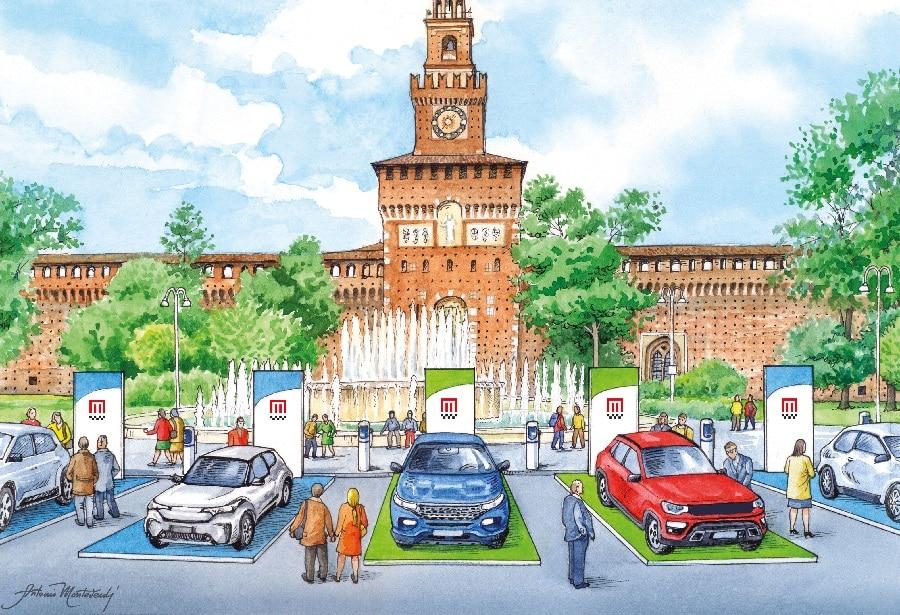 Milano Monza Motor Show Castello Sforzesco