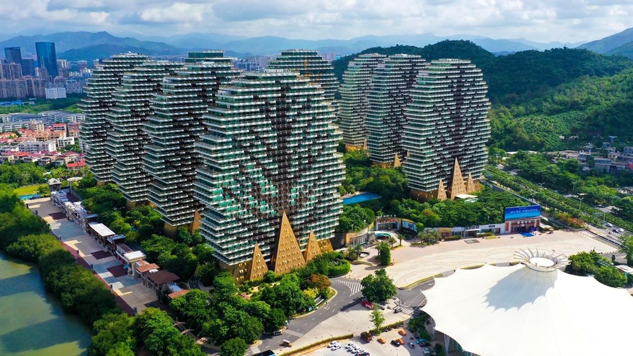 L'hotel cinese che ricorda Minecraft thumbnail