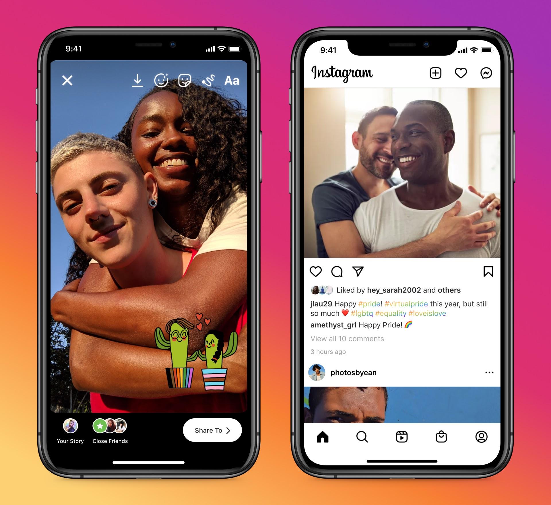 Pride Month: tutte le novità di Facebook e Instagram thumbnail