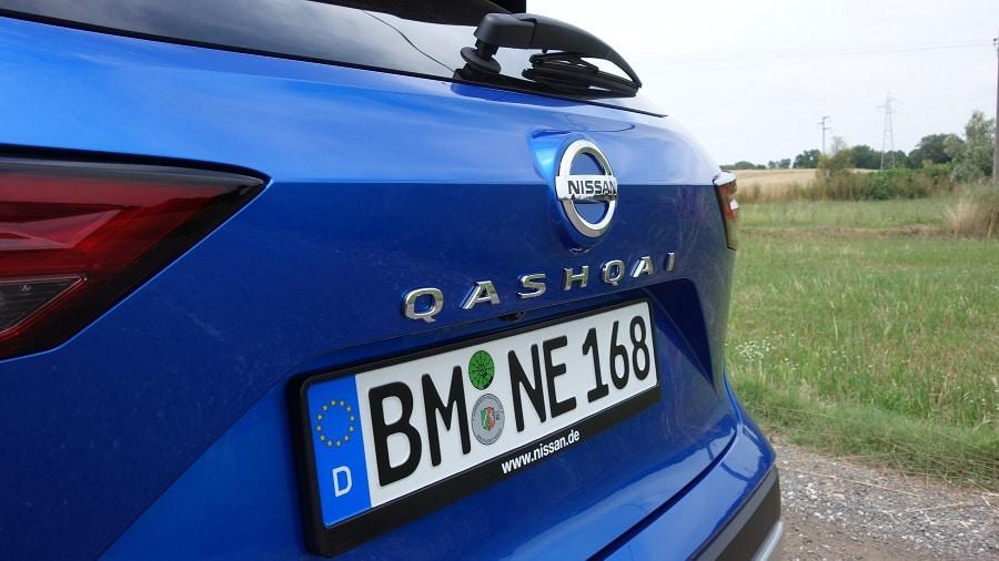 Nissan Qashqai 2021 dettaglio nome