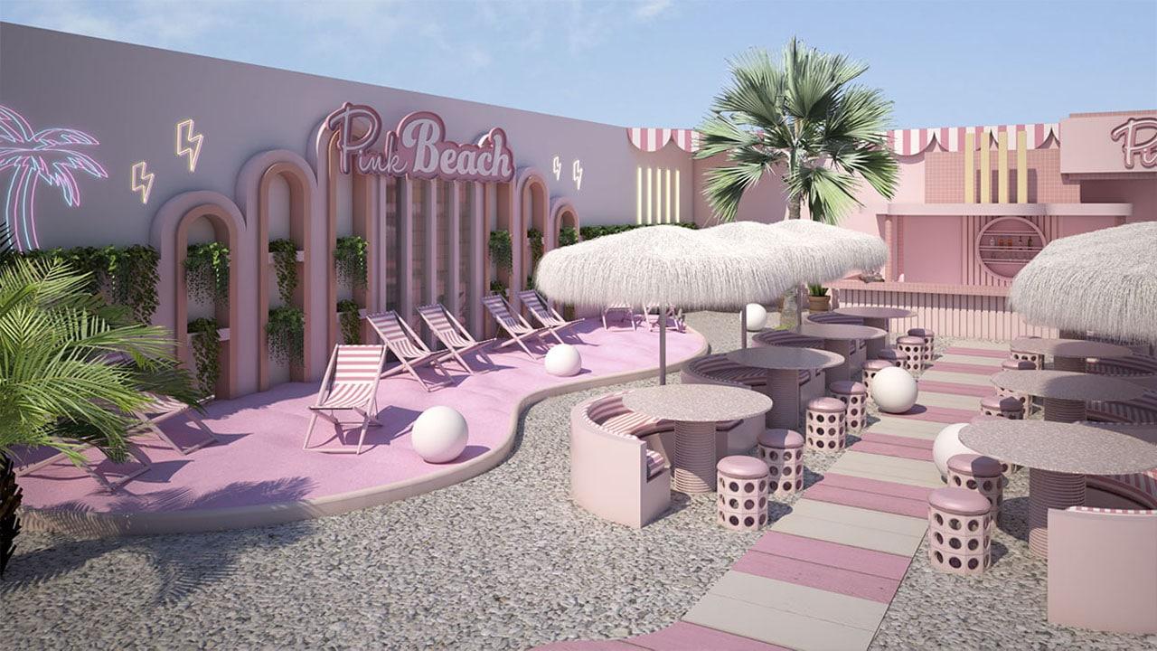 Pink Beach, la spiaggia rosa che sta facendo impazzire gli Instagrammer thumbnail