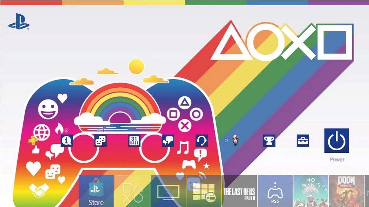 PlayStation festeggia il Pride con un nuovo tema dinamico thumbnail
