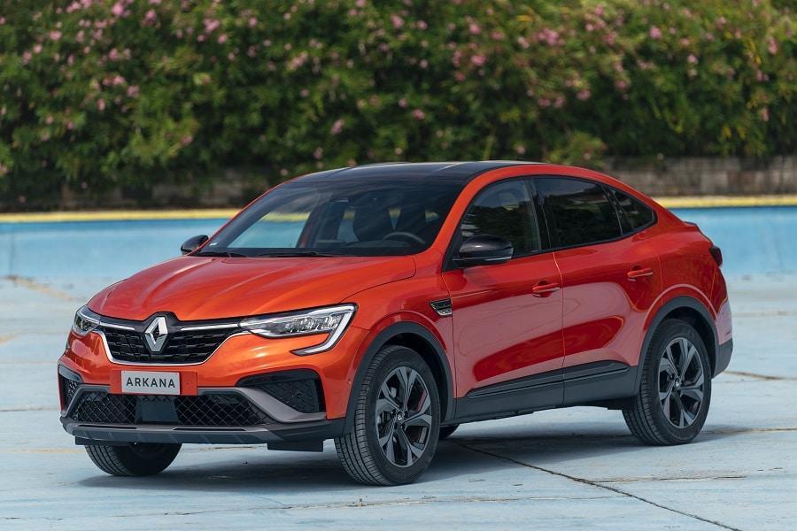 Renault Arkana Hybrid frontale