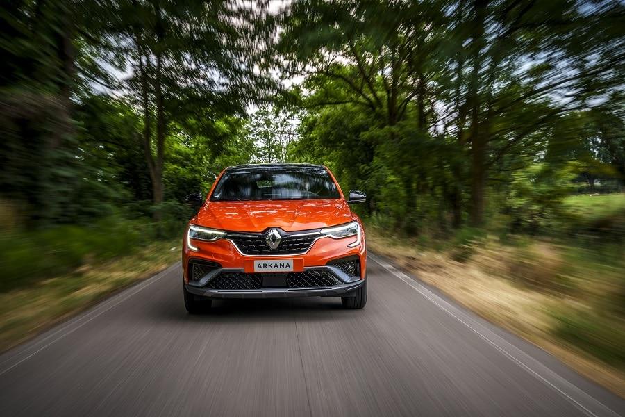 Renault Arkana Hybrid guida1