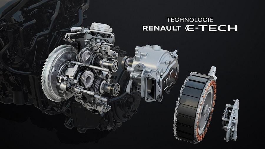 Renault Arkana Hybrid sistema E-TECH