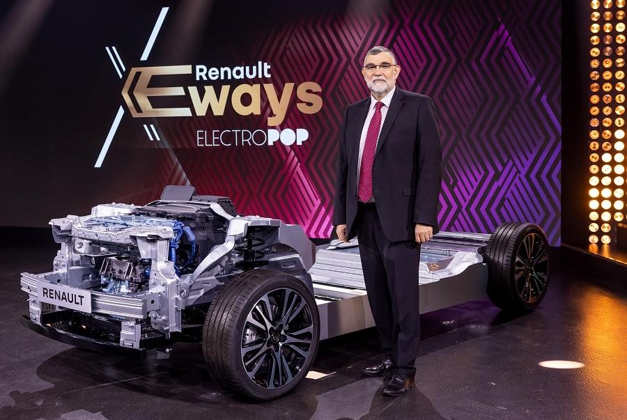 Renault E-Ways Gilles le borgne