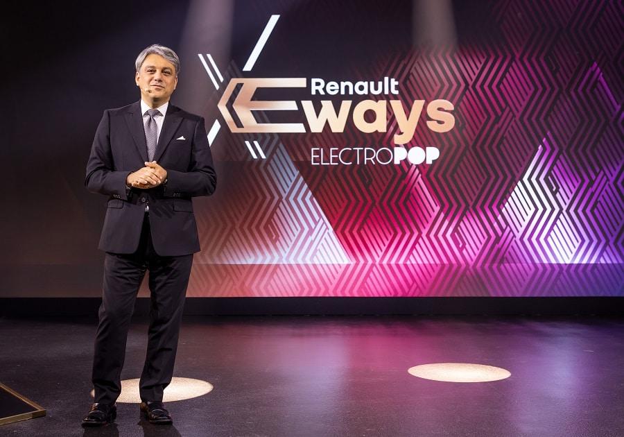 Renault E-Ways Luca de Meo