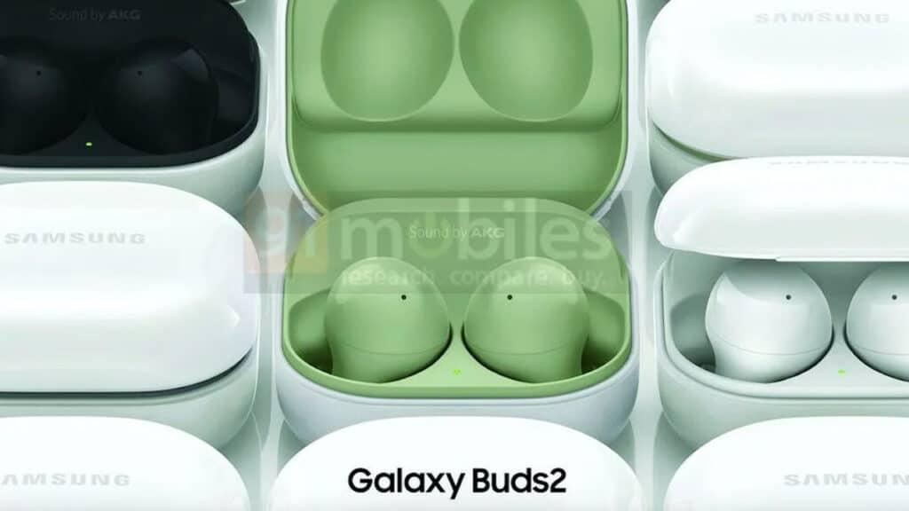 Samsung Galaxy Buds 2 - render