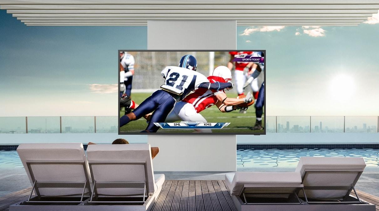 Samsung The Terrace è il TV pensato per l'intrattenimento outdoor thumbnail