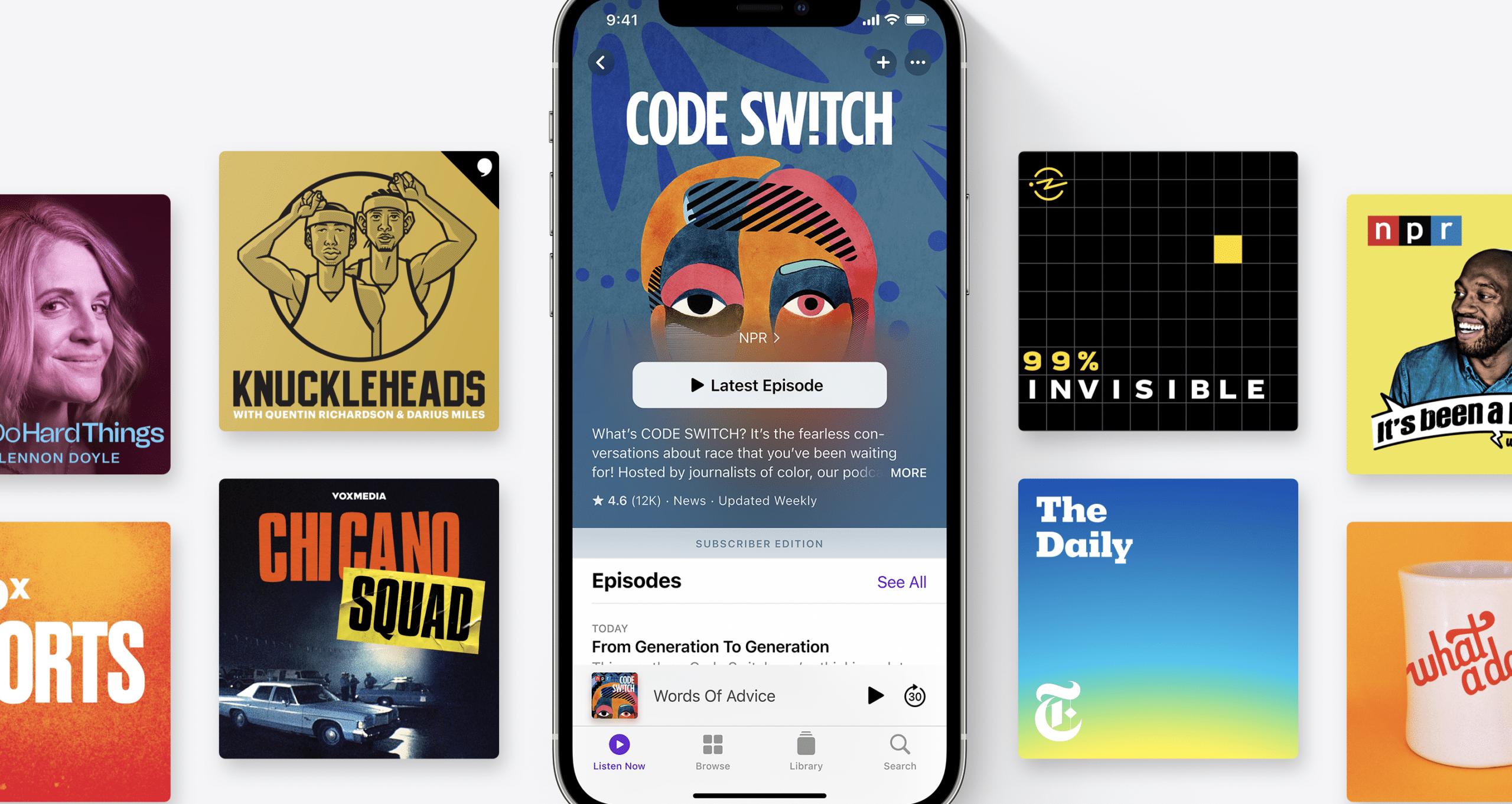 Apple Podcasts: lanciato il nuovo servizio in abbonamento thumbnail