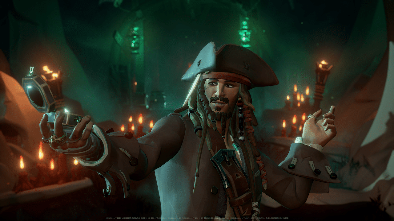Jack Sparrow arriva in Sea of Thieves thumbnail