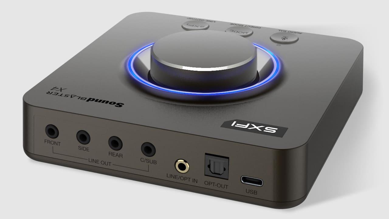 Sound Blaster X4, la scheda audio tuttofare thumbnail