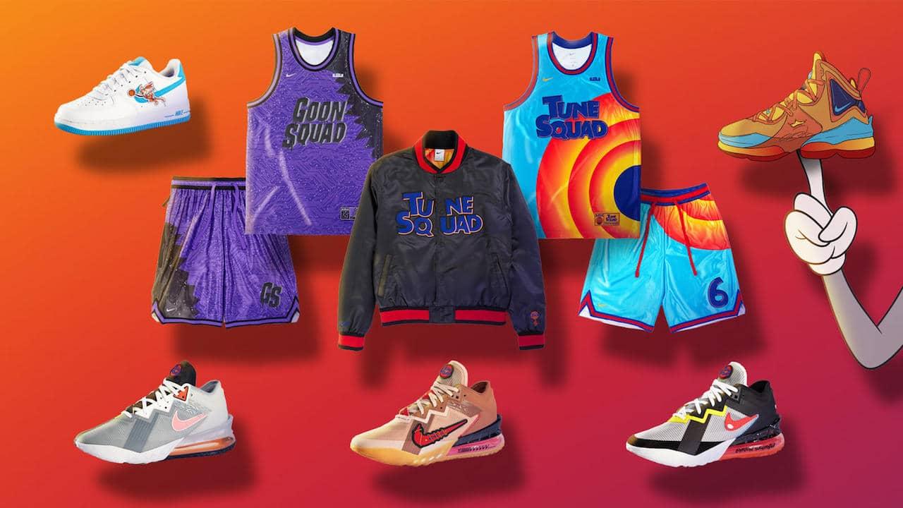 La collezione Nike ispirata a Space Jam 2 thumbnail