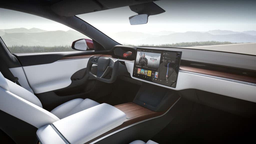 Tesla Model S Plaid interni