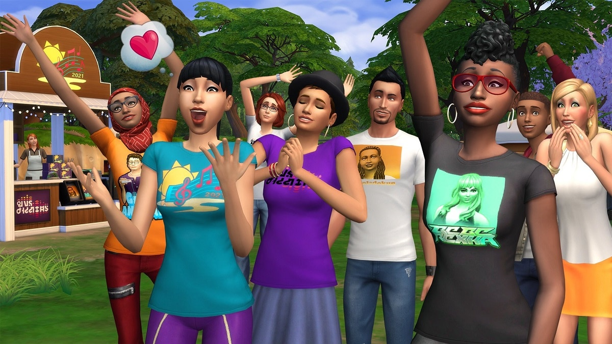 Annunciato l'evento musicale Sims Sessions in The Sims 4 thumbnail