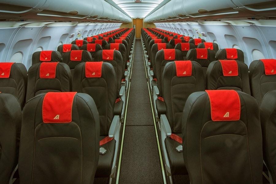 Torino-roma aereo treno alitalia interno1