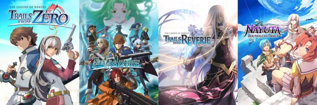 The Legend of Heroes: Trails of Azure arriva in occidente ad altri titoli della serie