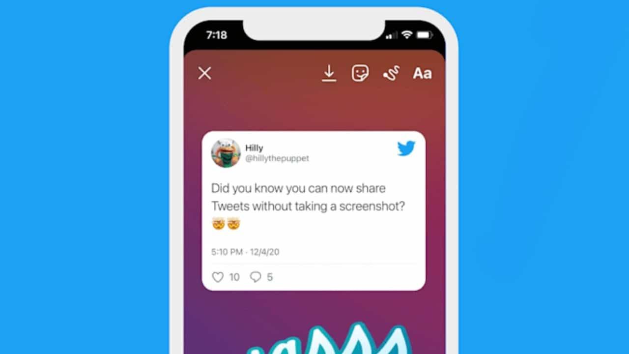 Twitter lancia i tweet nelle Instagram Stories thumbnail