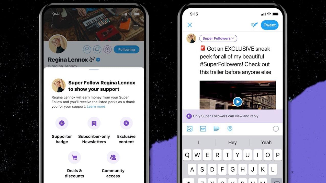 Twitter lancerà Super Follows a breve thumbnail