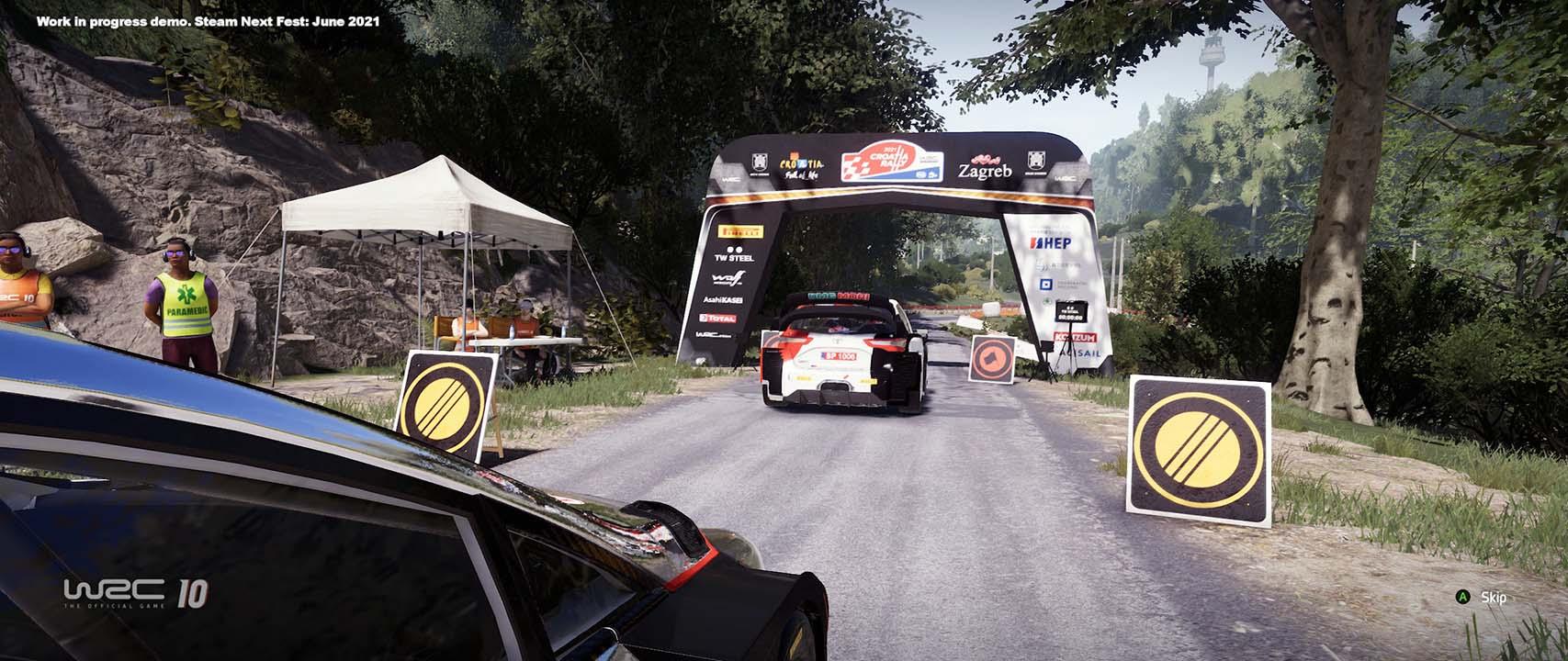 WRC 10 FIA World Rally Championship: un piccolissimo assaggio thumbnail