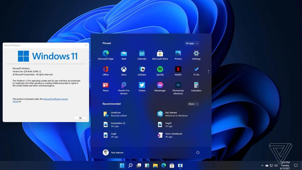 Windows 11, diffusi i primi screenshot del nuovo sistema operativo thumbnail