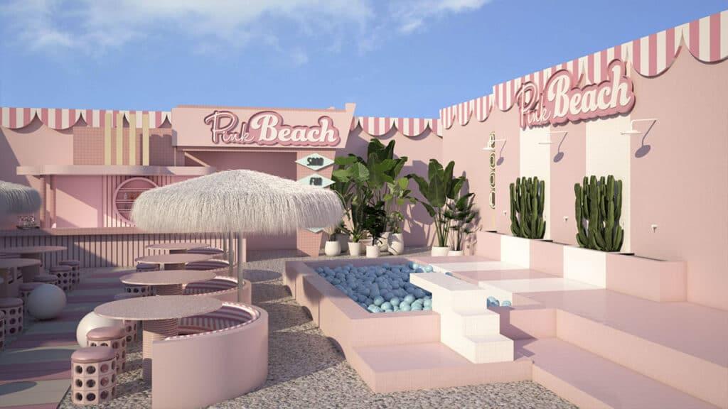 Wondr Experience - Pink Beach Amsterdam