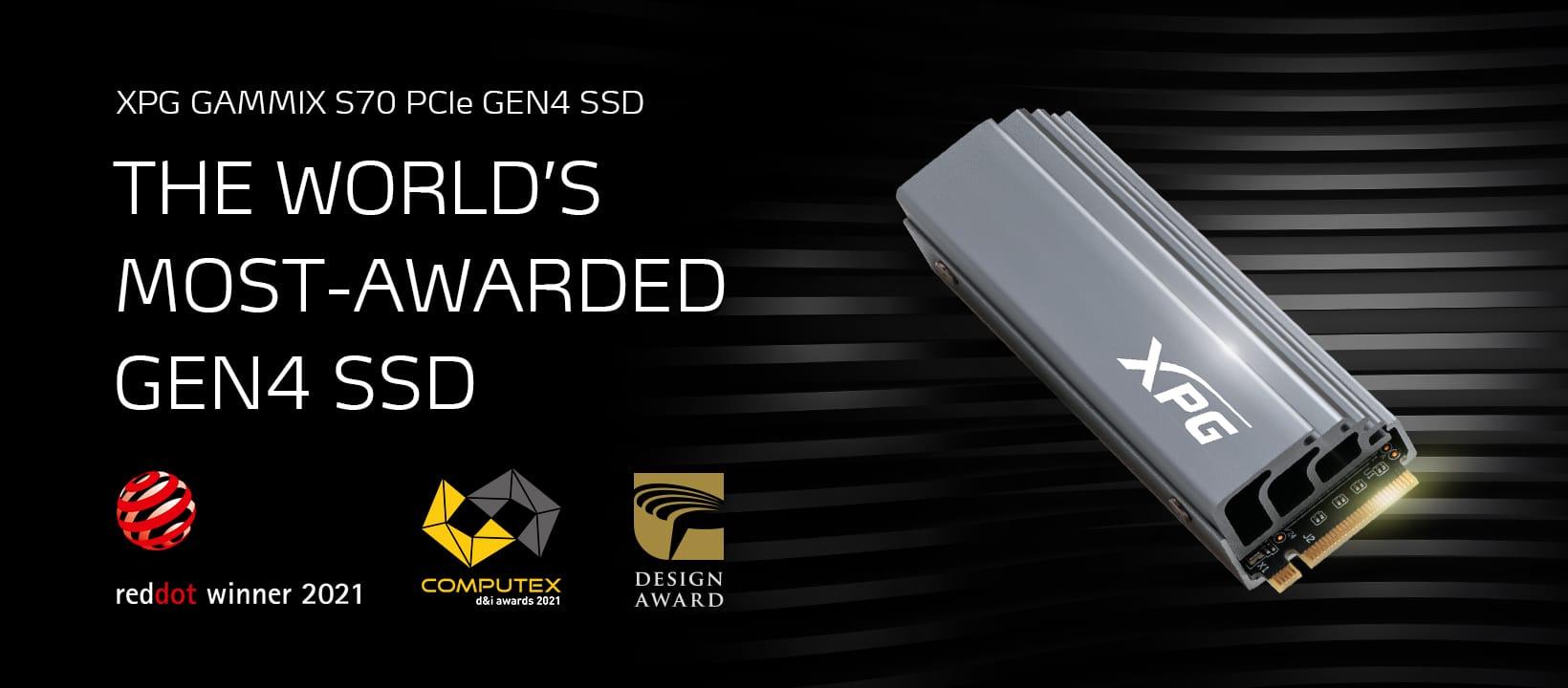 "L'XPG GAMMIX S70 vince il premio ""COMPUTEX d&i 2021"" thumbnail"