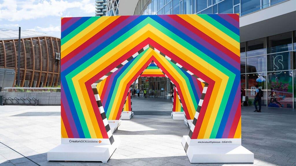 Zalando Pride - Archi Motorefisico