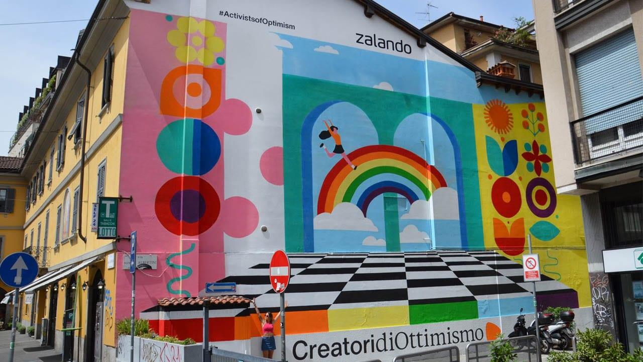 Pride Month, Zalando colora le strade di Milano e Roma thumbnail