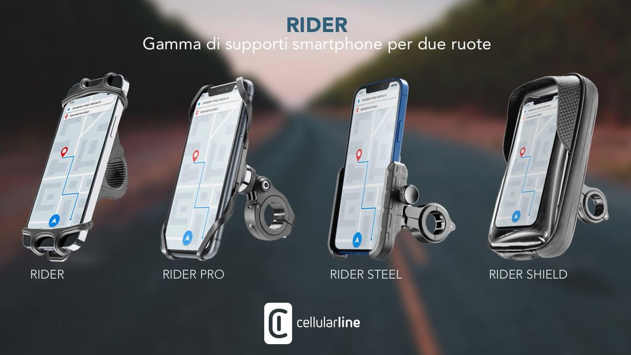 Cellularline presenta Rider, la gamma di supporti per le due ruote thumbnail