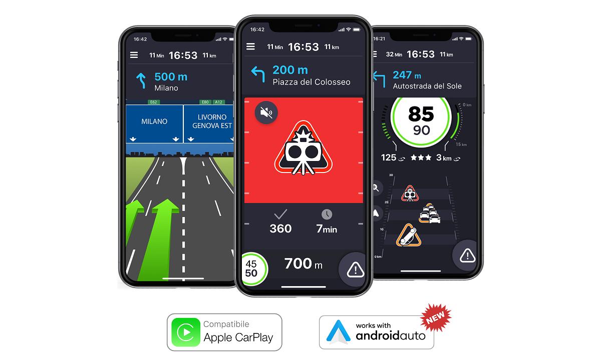 L'app di COYOTE è ora compatibile con Android Auto thumbnail