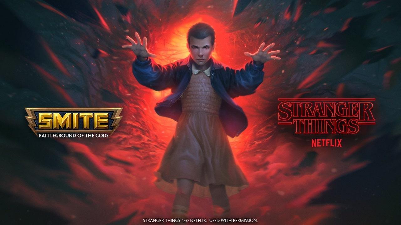 Hi-Rez Studios annuncia il crossover tra SMITE e Stranger Things thumbnail