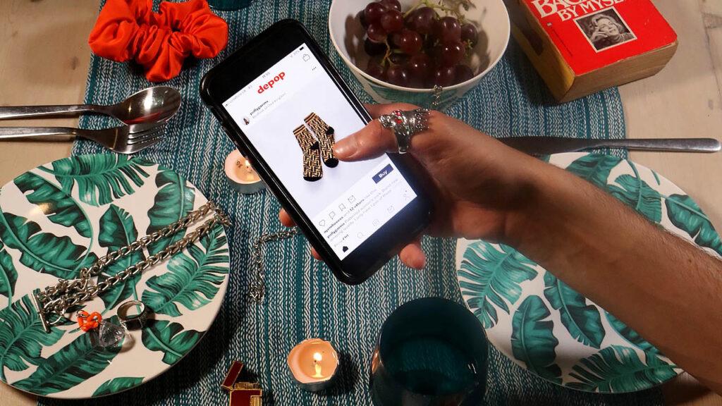 depop app compravendita abiti usati