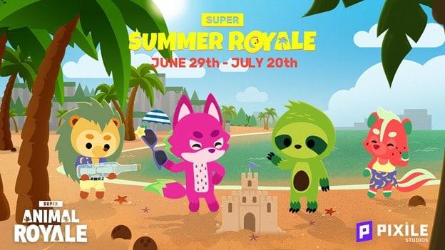 evento estivo Super Animal Royale