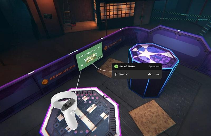 facebook realtà virtuale pubblicità oculus-min