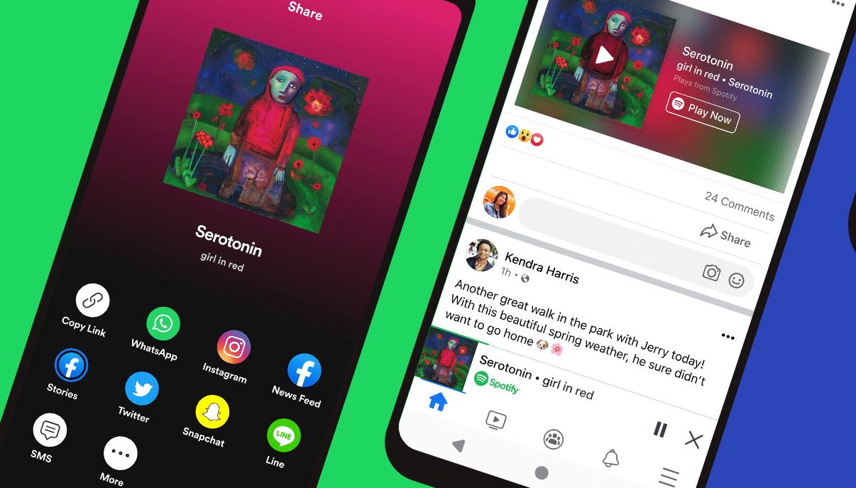 Facebook e Spotify lanciano il Miniplayer thumbnail