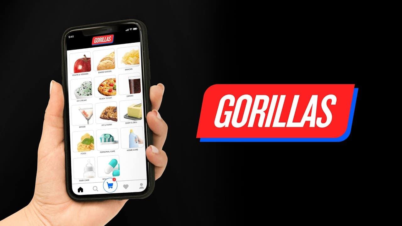 Gorillas approda in Italia: spesa a casa in 10 minuti thumbnail