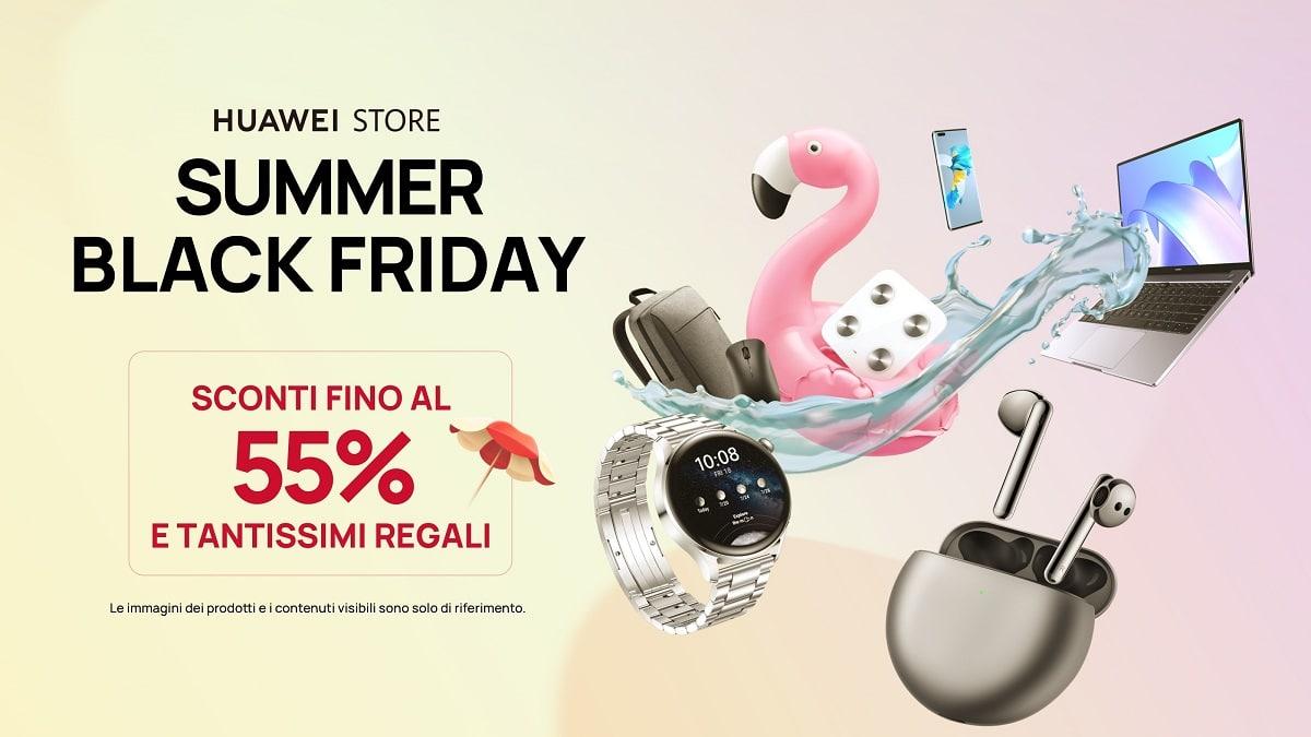 Huawei lancia le nuove offerte Summer Black Friday thumbnail