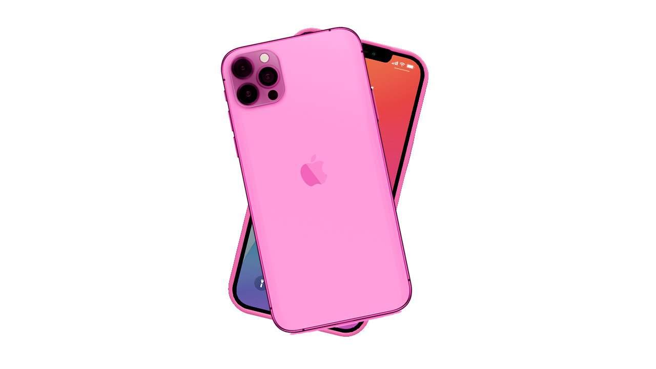 Il nuovo iPhone 13 potrebbe essere rosa thumbnail