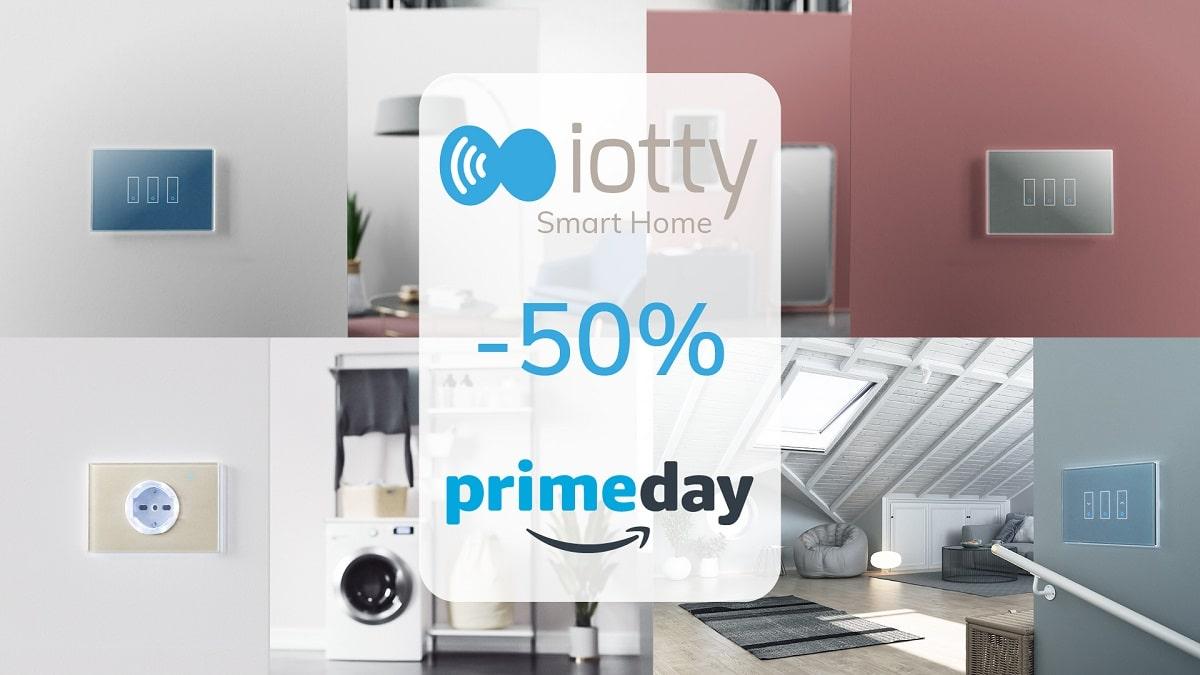 Amazon Prime Day 2021: sconti del 50% per i prodotti iotty thumbnail